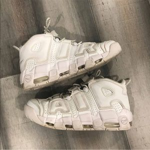 Nike Air uptempo White Scottie pippen Sz 10.5